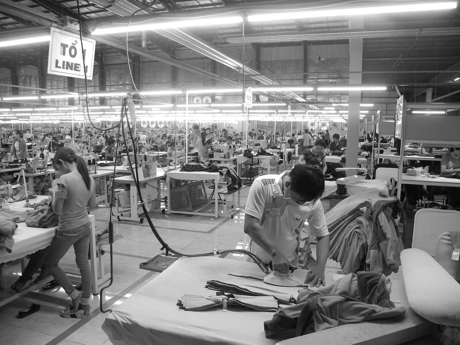 Sportswear Inc. Manufacturing Checklist