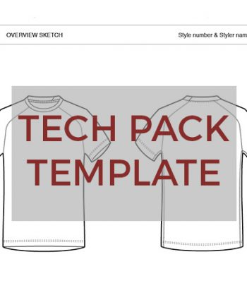Sportswear Inc. Tee Template