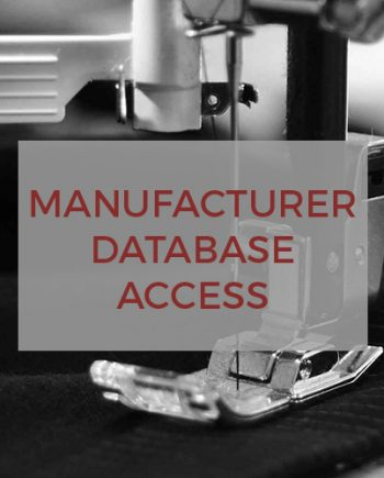 Manufacturer Database Access