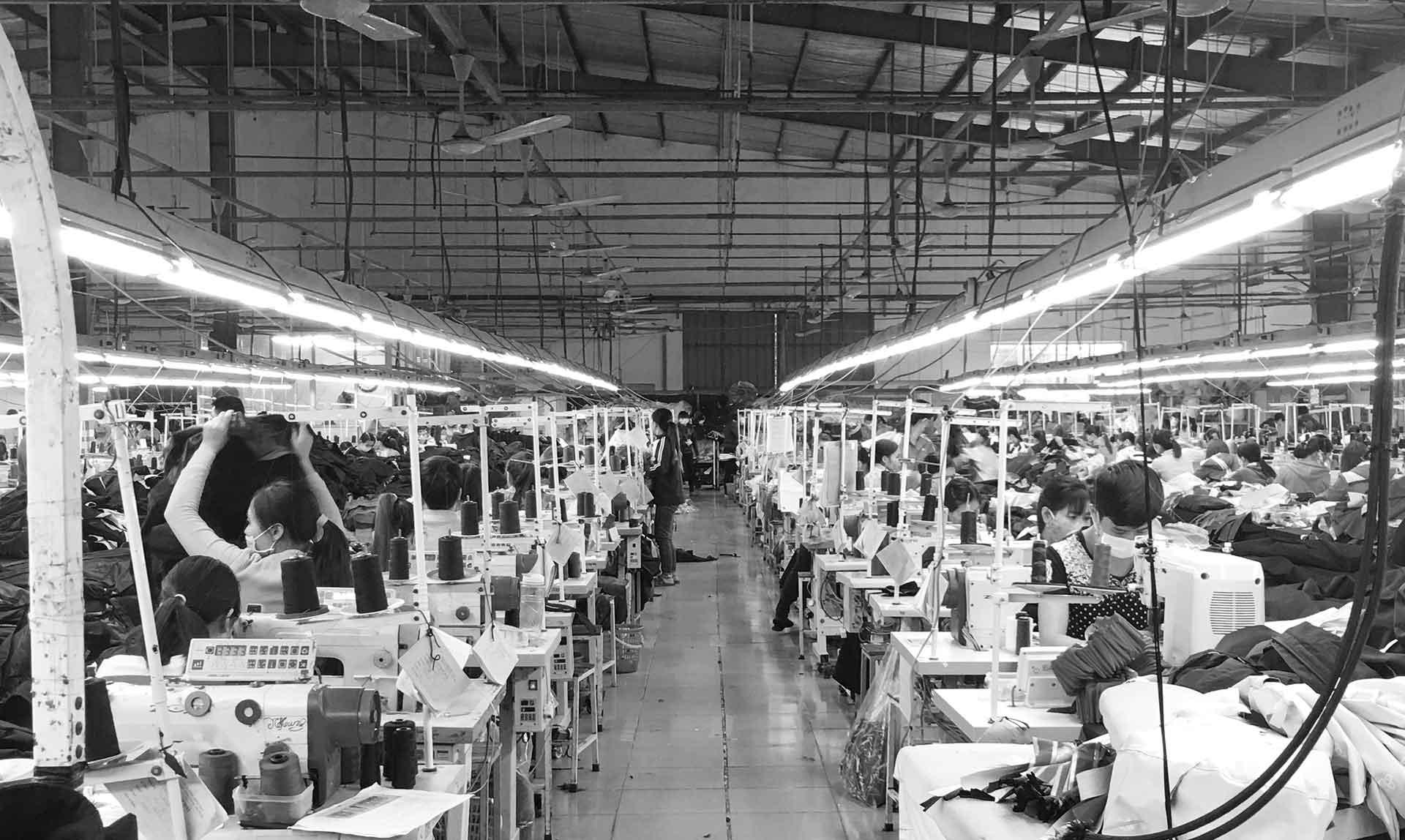 Sportswear Inc. Bulk Production