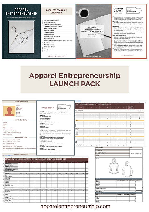 Apparel Launch Pack
