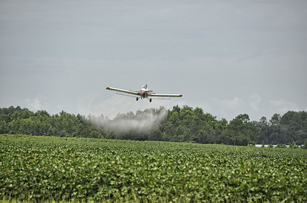 Cotton Crop Duster Plane
