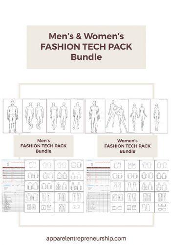 Fashion Tech Pack Templates