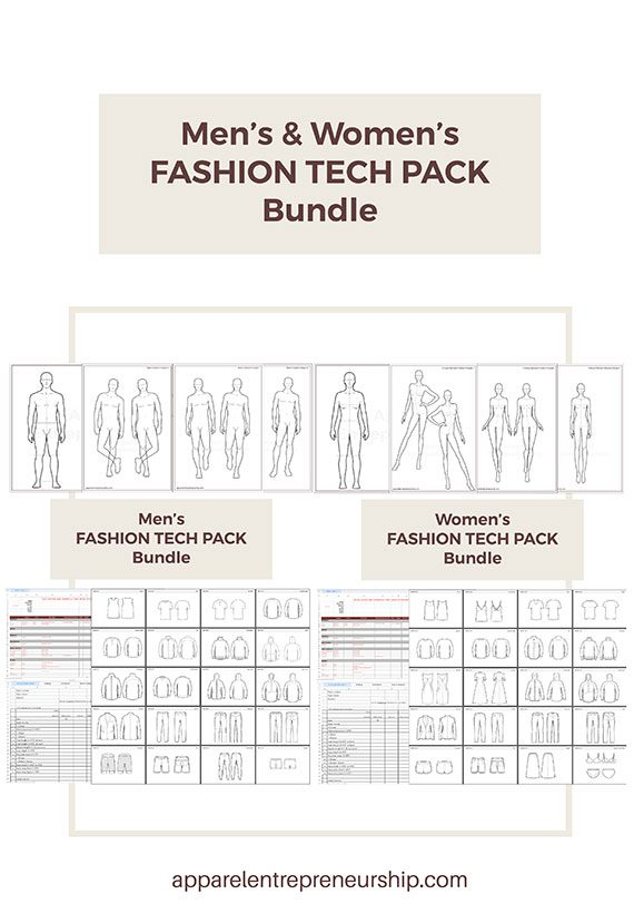 Fashion Tech Pack Templates