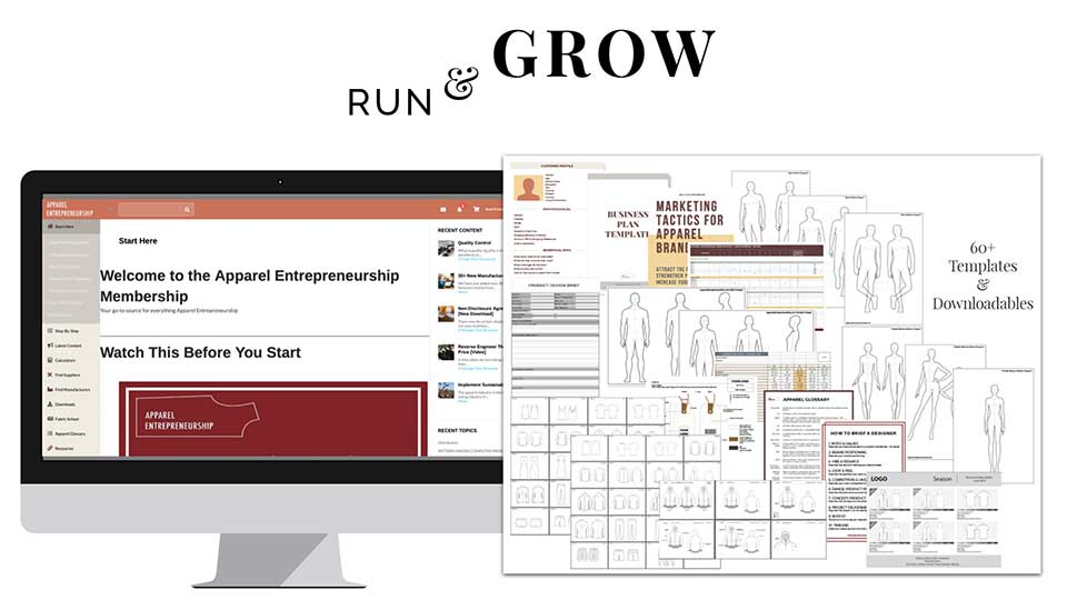 Run & Grow A Clothing Brand