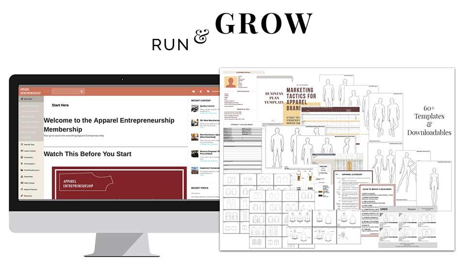 Run & Grow A Clothing Brand