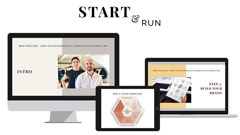 Start & Run A Clothing Brand