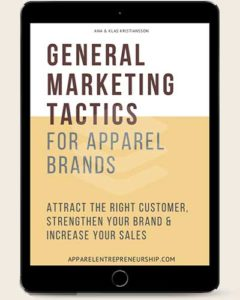 Marketing tactics e-book